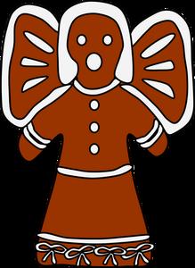 219x300 5840 Free Christmas Gingerbread Man Clipart Public Domain Vectors