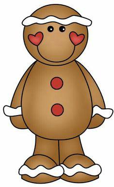 235x385 Christmas Gingerbread Face Clip Art Clip Art