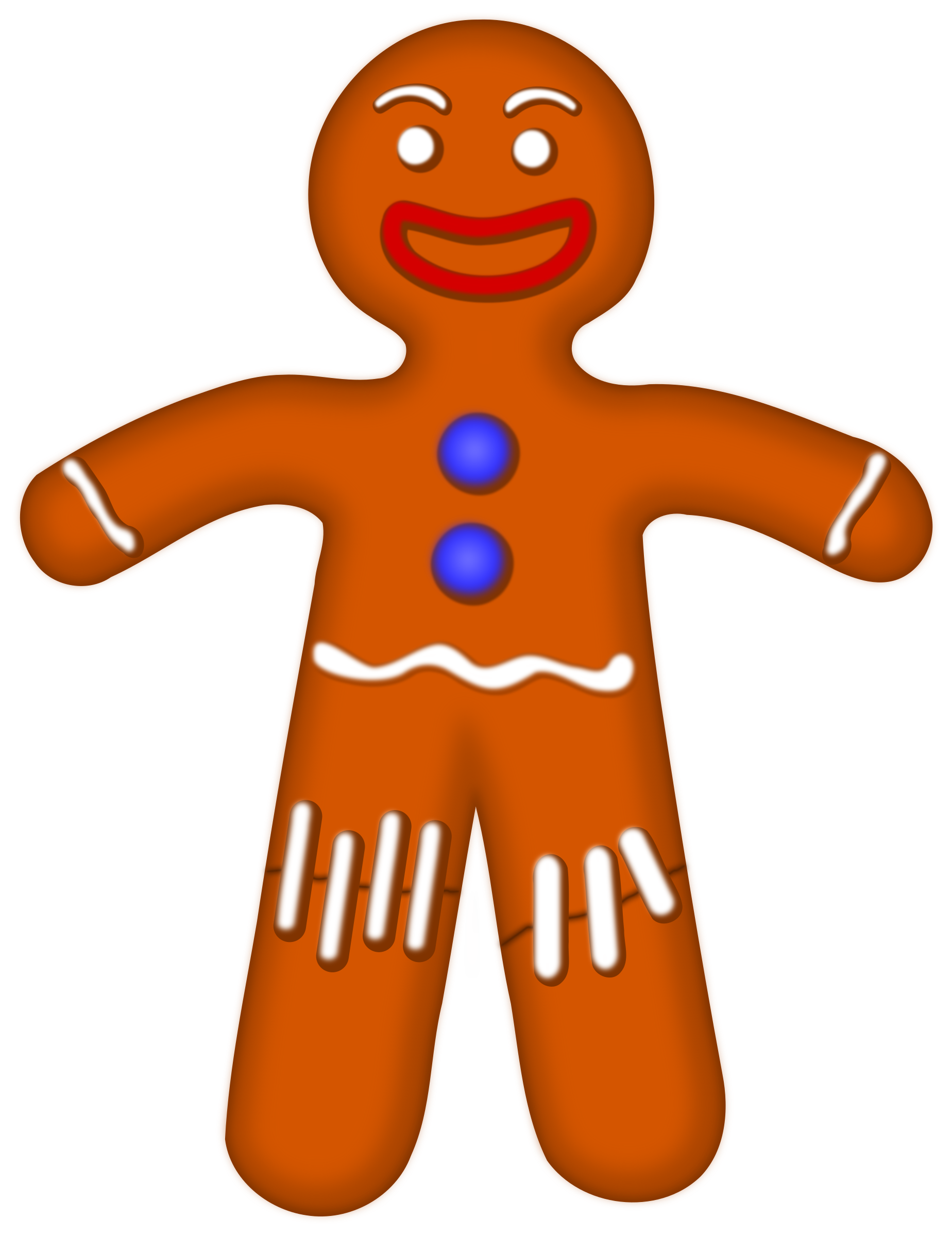 1848x2400 Clipart Gingerbread Man Gingerbread Man Clipart