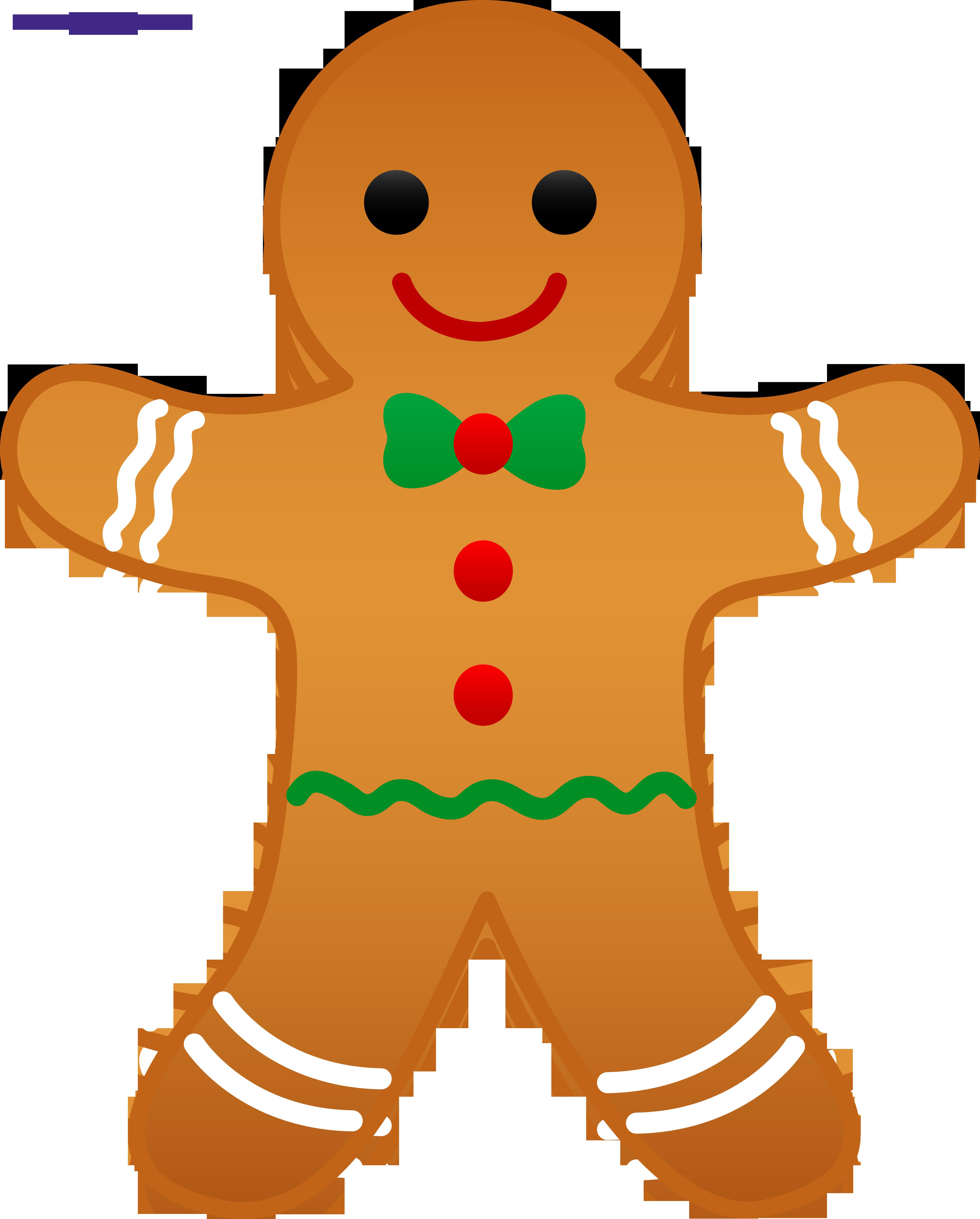 5233x6509 Gingerbread Man Clipart