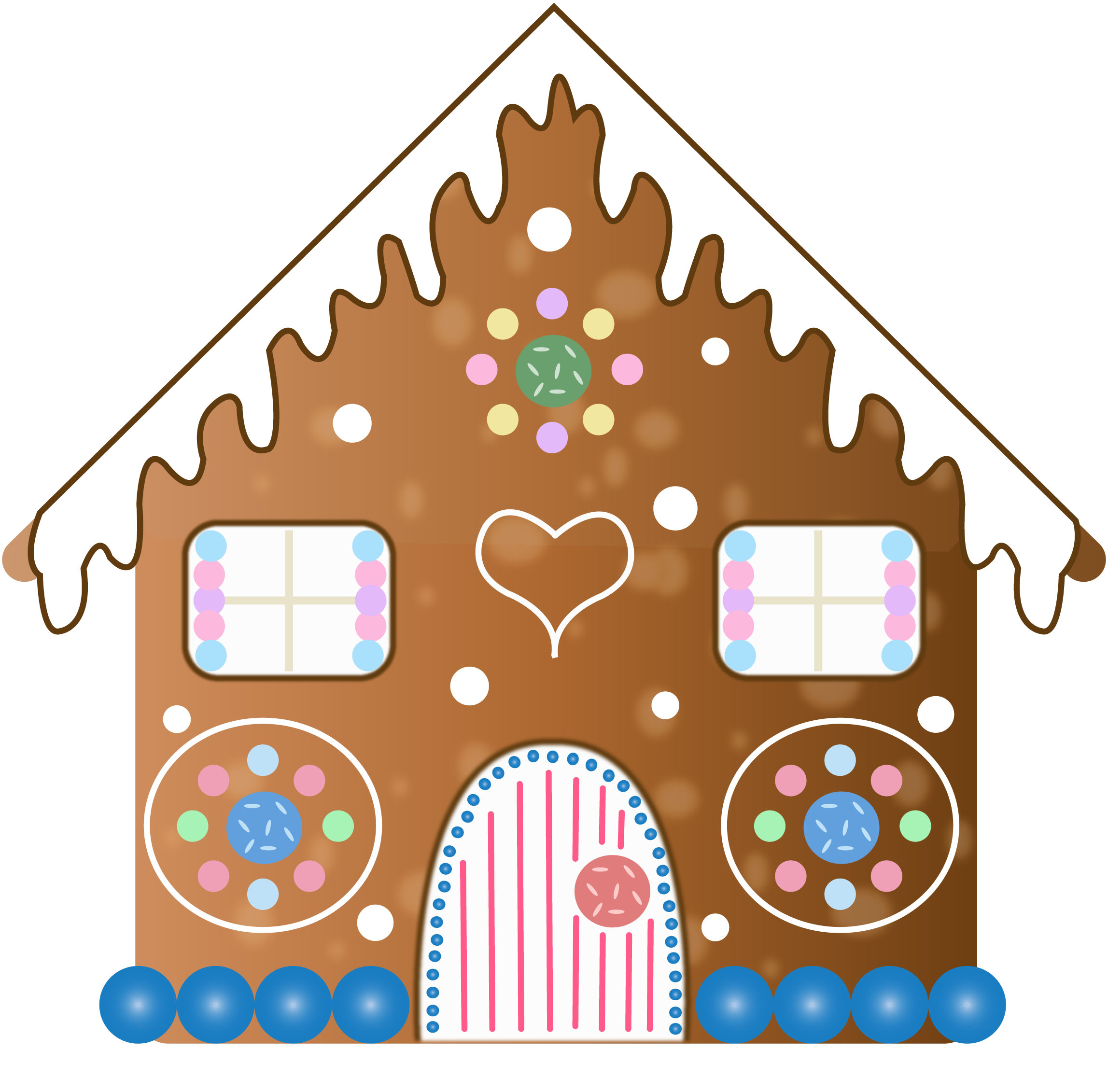 2295x2262 Tremendous Gingerbread House Clipart Google Search 5th Grade