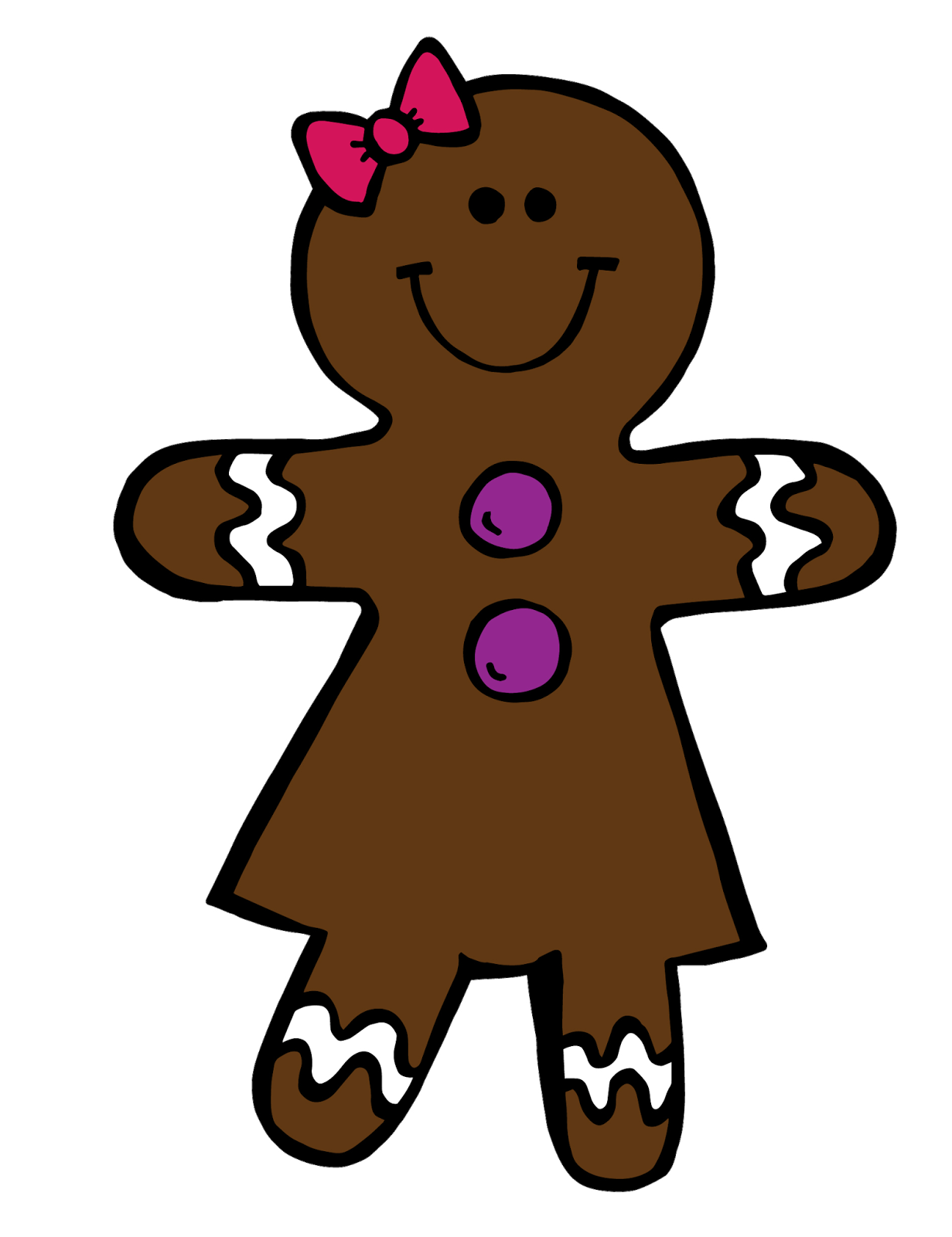 1231x1600 Collection Of Gingerbread Girl Clipart High Quality, Free