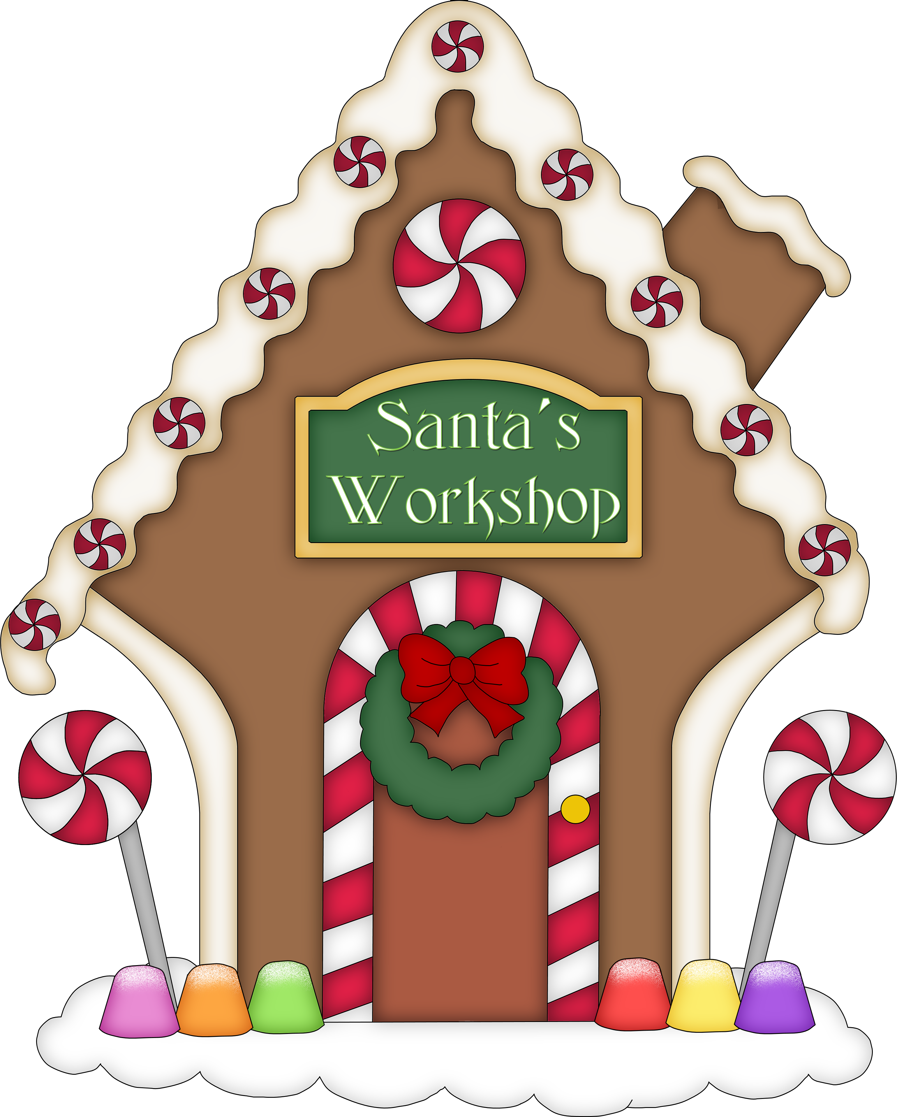 3079x3832 Collection Of Gingerbread House Clipart Png High Quality