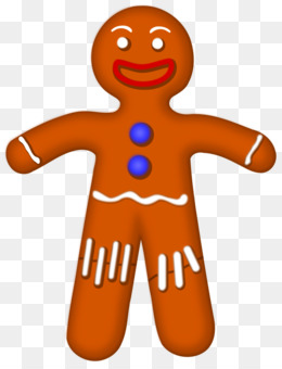 260x340 Free Download The Gingerbread Man Cookie Clip Art