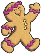 176x230 Gingerbread Man Clip Art Gingerbread Man Printables