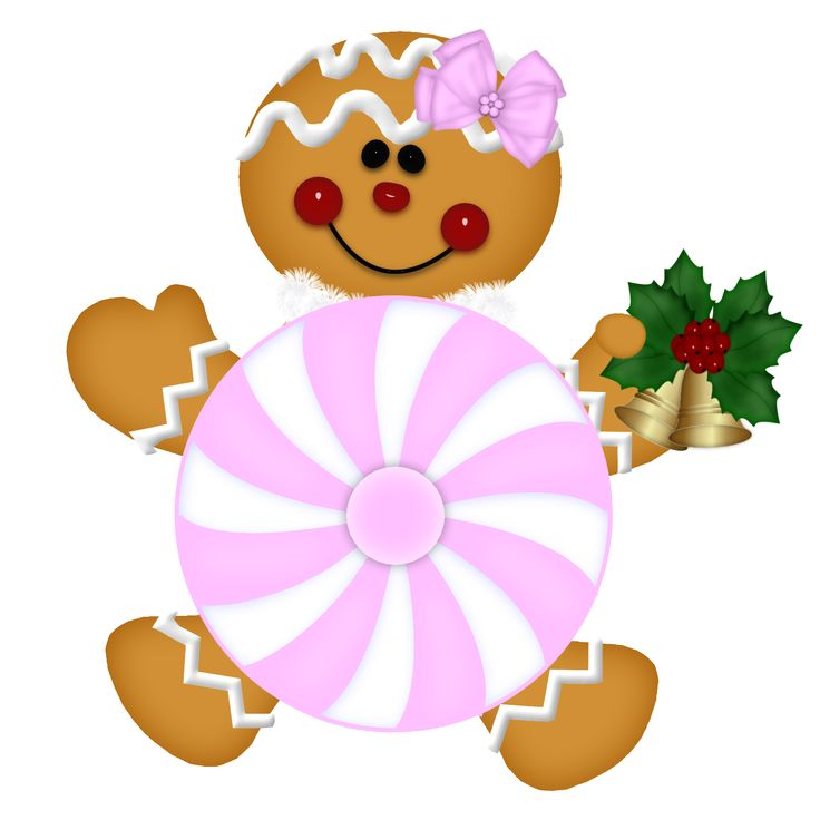 Gingerbread Family Clipart