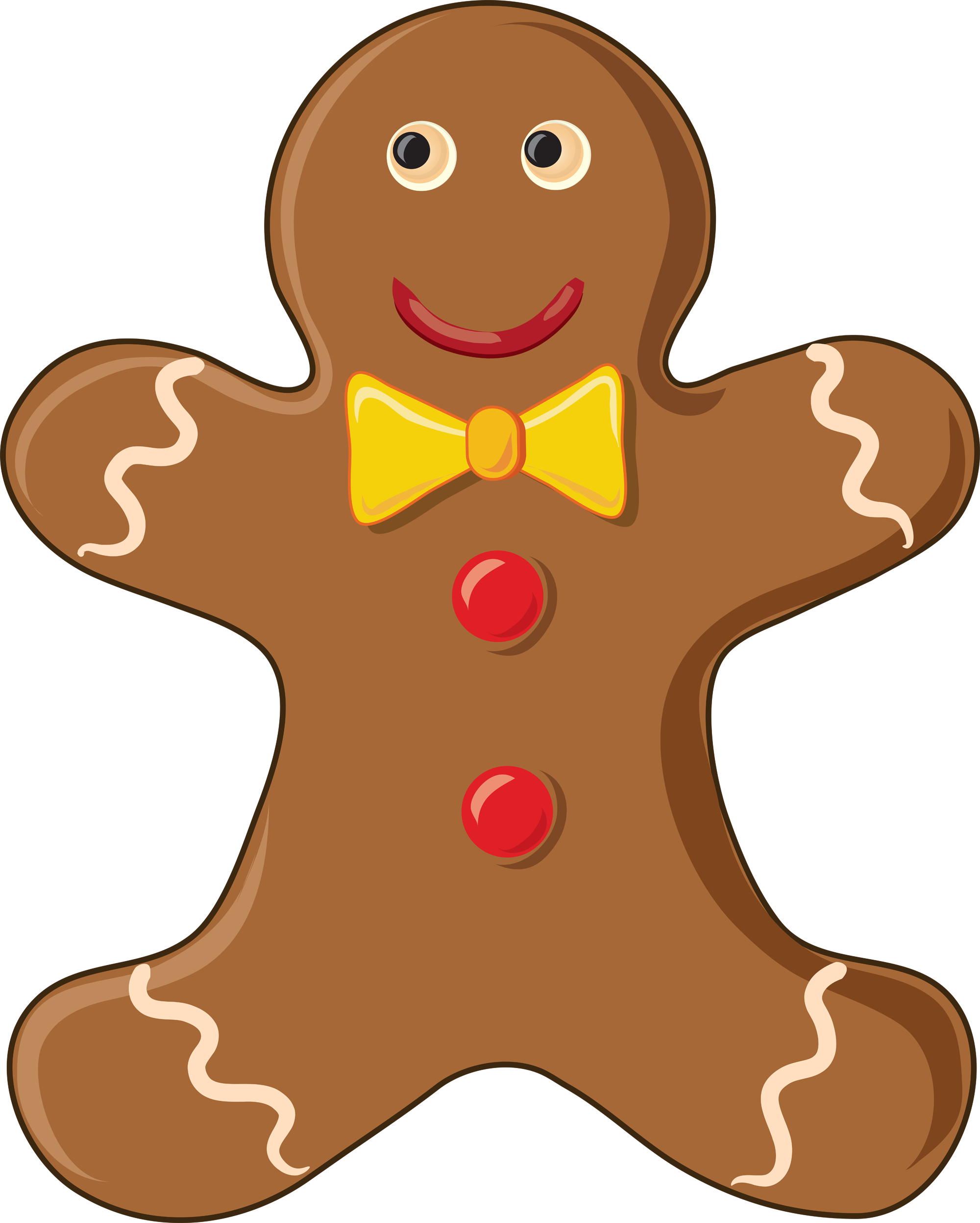 2000x2494 Gingerbread Man Gingerbread Man Clip Art Gingerbread