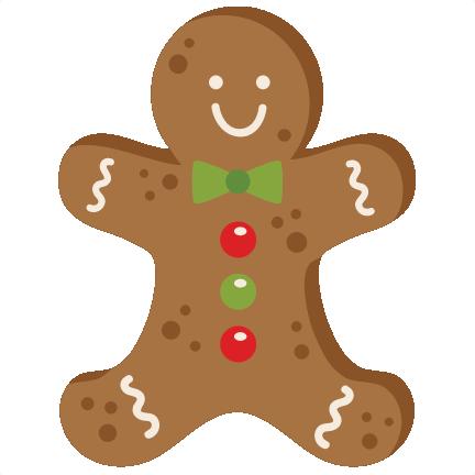 432x432 Gingerbread Man Cookie Svg Scrapbook Cut File Cute Clipart Files