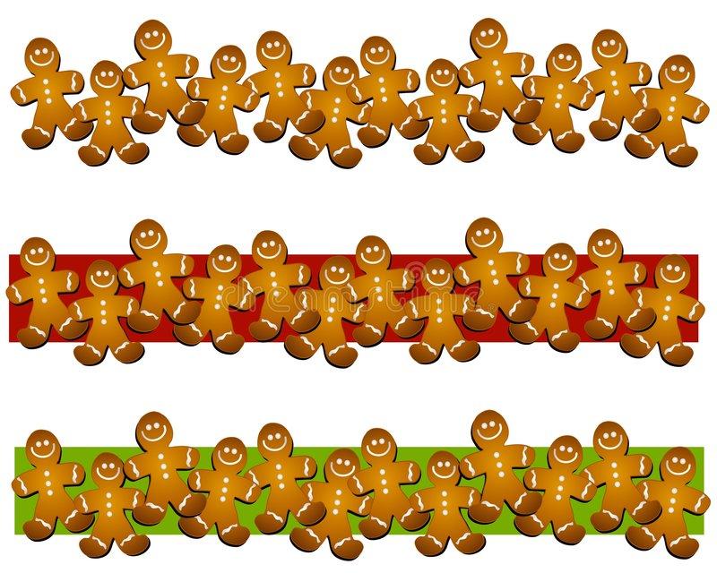 800x640 Gingerbread Clipart Border