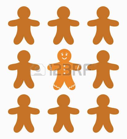 411x450 Top 81 Gingerbread Clip Art