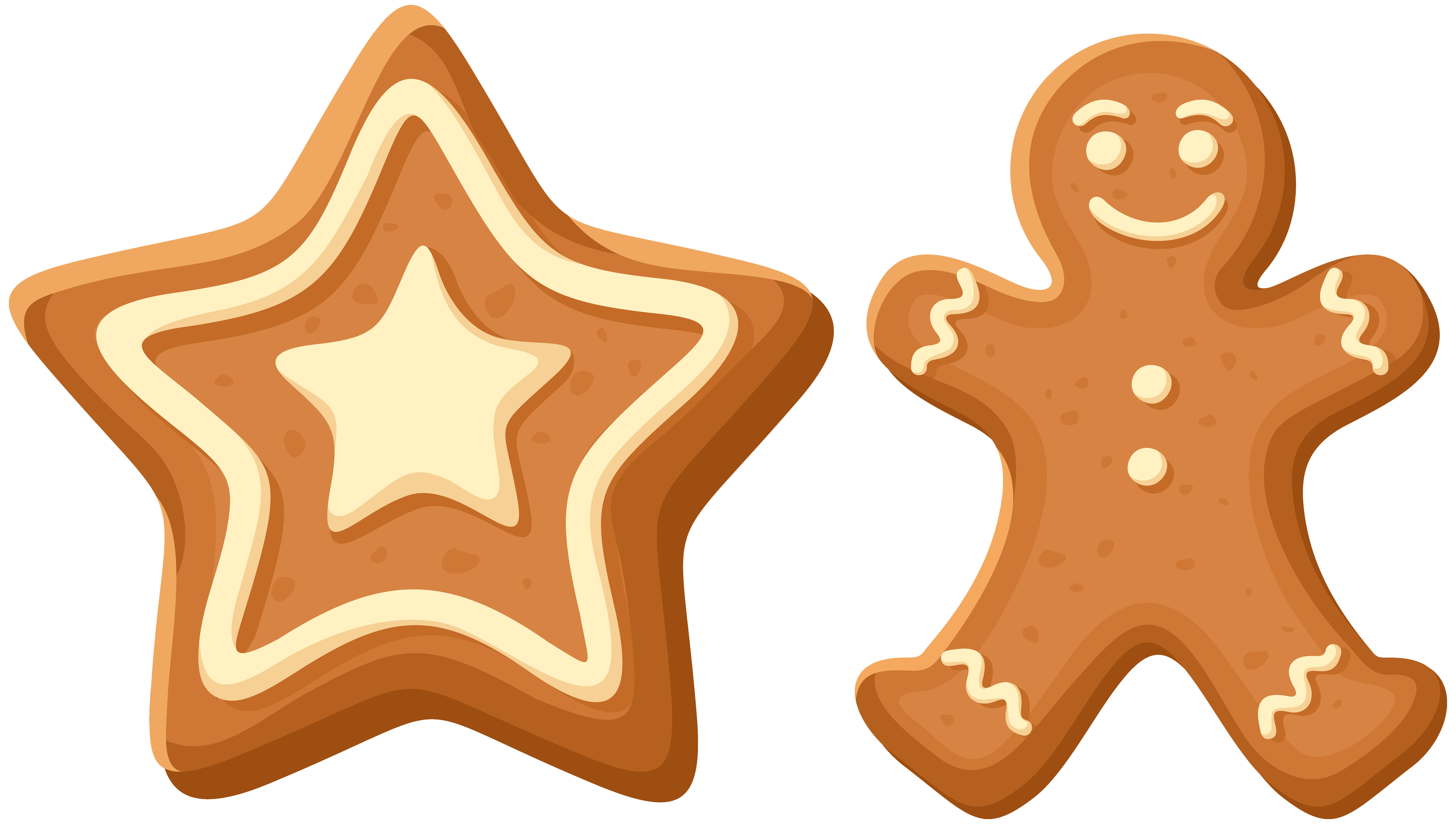 8000x4530 Gingerbread Cookies Clipart Thatswhatsup