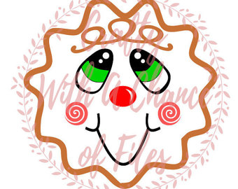 340x270 Gingerbread Clipart Face
