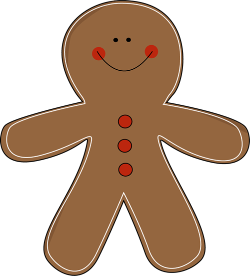 500x550 Free Clip Art Christmas Gingerbread Man Gingerbread Man Clip Art