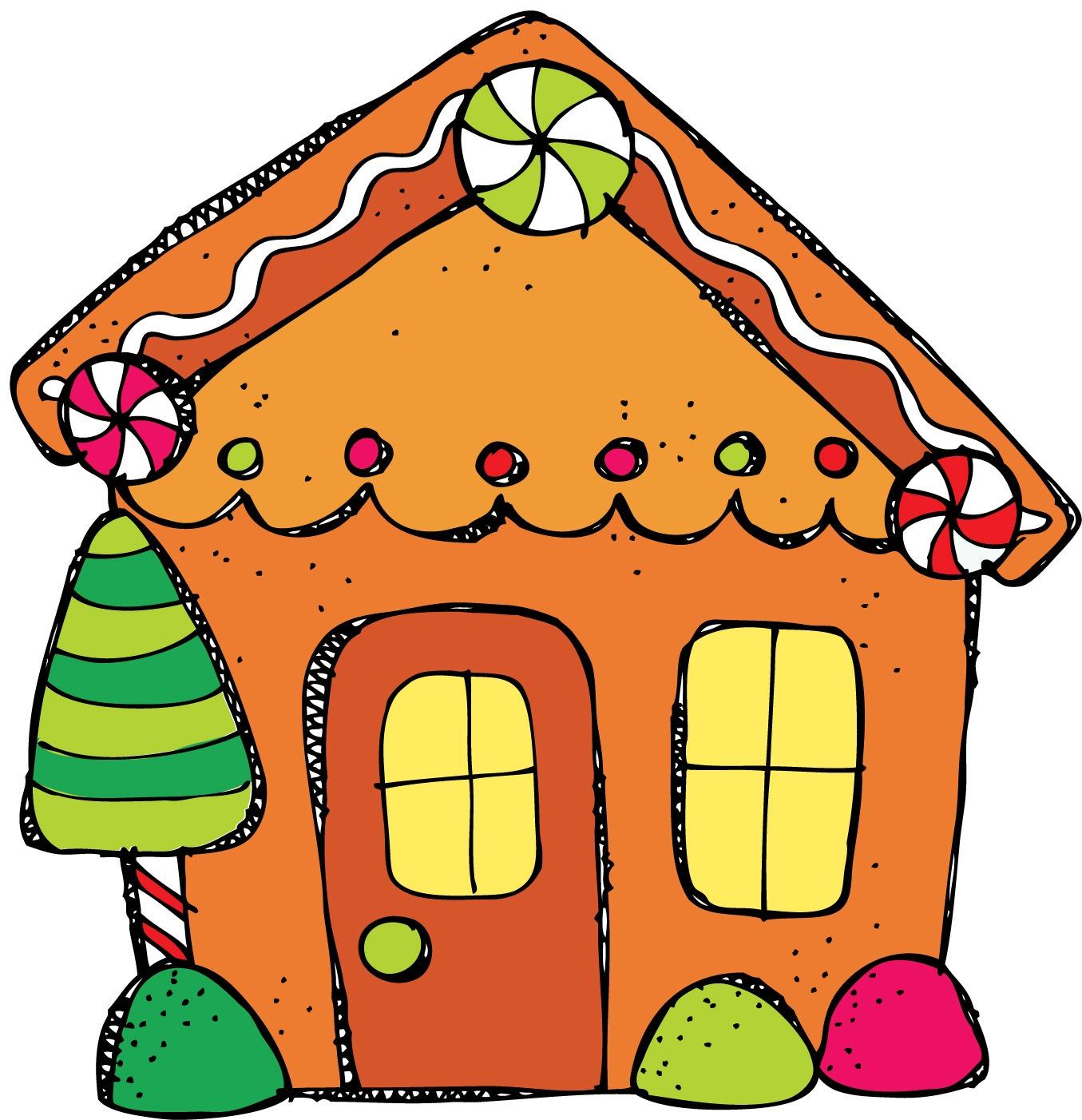 1355x1402 Clip Art Gingerbread House Clip Art