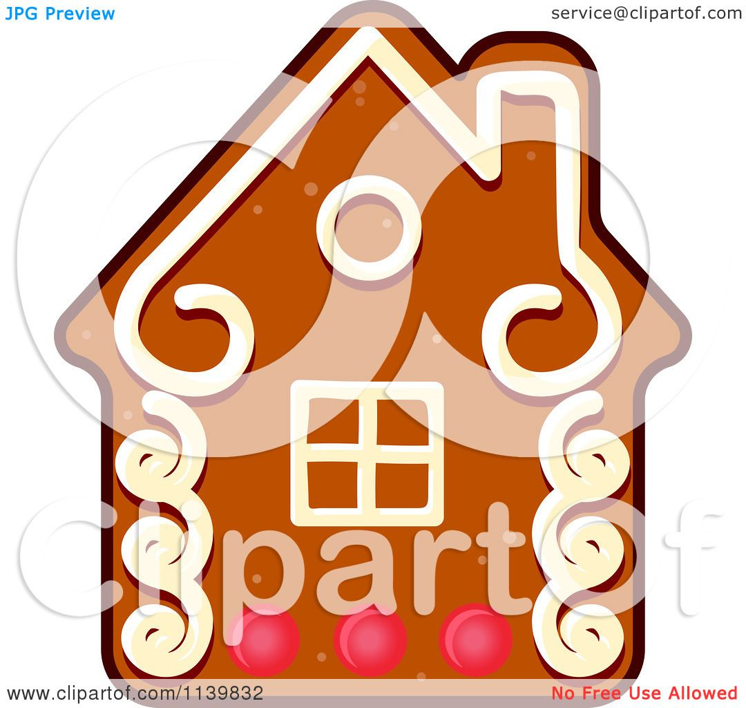 1080x1024 Clipart Of A House Gingerbread Christmas Cookie
