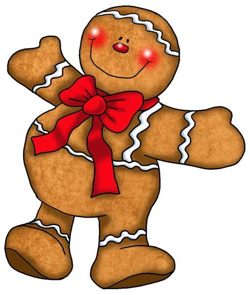 508x600 Gingerbread Clipart Christmas Friend