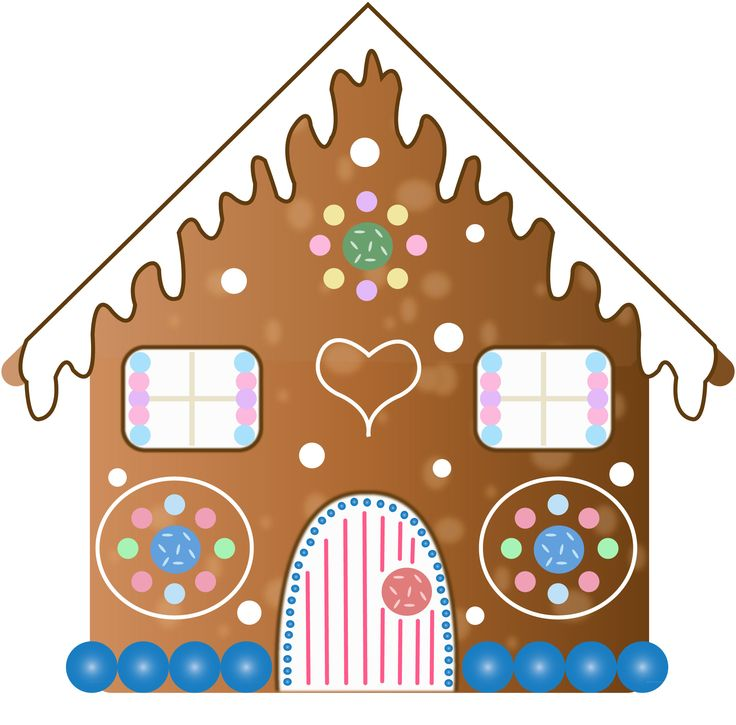 736x725 Gingerbread House Clip Art Clipart