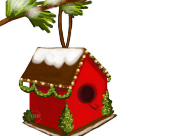 340x270 Free Birdhouse Clipart Clip Art Library