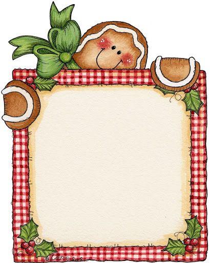 410x512 Gingerbread Border Cliparts Free Download Clip Art