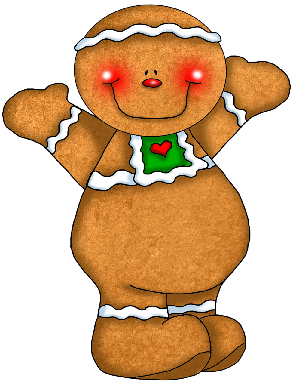 975x1280 Merry Christmas Ginger Couple Sl