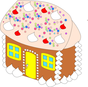300x297 Sweet House Clip Art