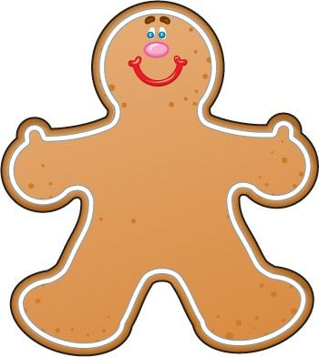 350x392 Top 79 Gingerbread Clip Art