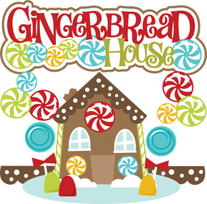 300x296 Gingerbread House Clip Art Free Free Gingerbread House Cliparts