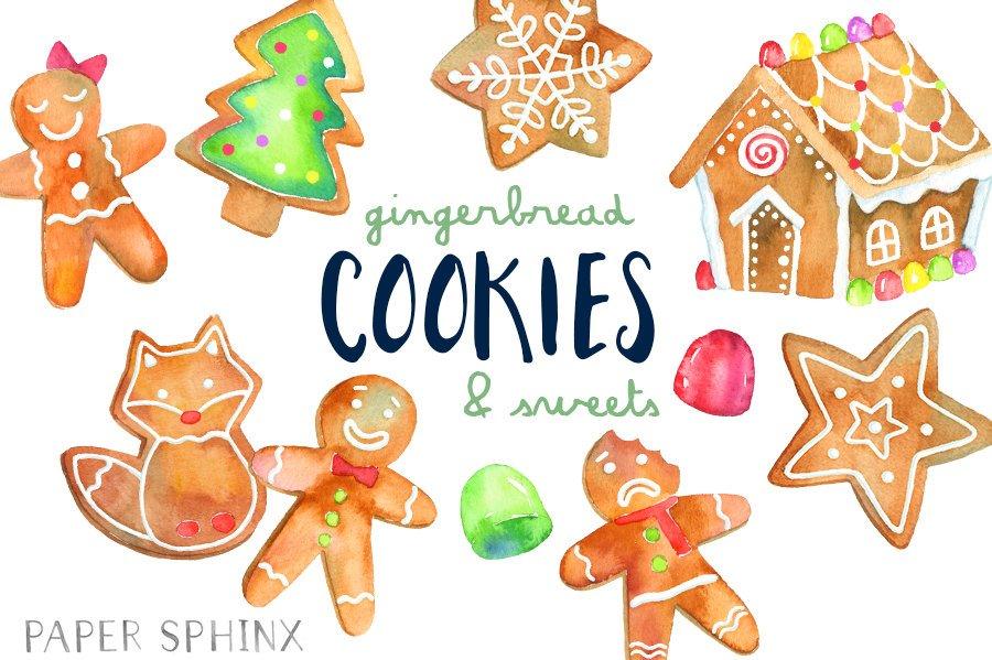 900x599 Christmas Cookies Clipart Gingerbread Man Clip Art