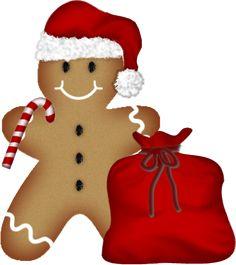 236x265 Christmas Gingerbread Clip Art Clip Art