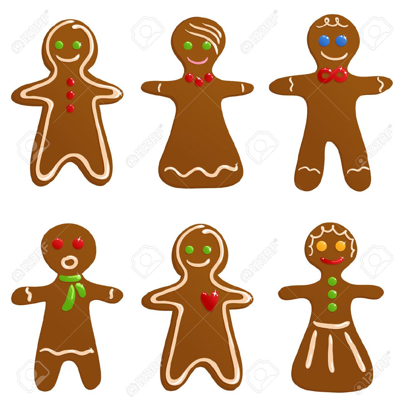 1300x1300 Clipart Gingerbread Man Gingerbread Man Clipart