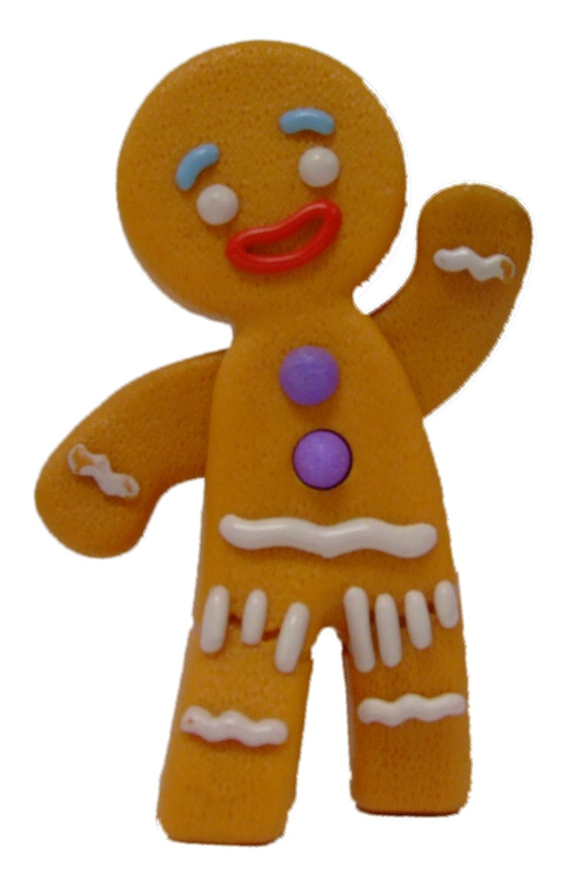 830x1252 Free Gingerbread Man Clip Art 4