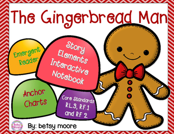 350x271 Printable Gingerbread Man Story Teaching Resources Teachers Pay