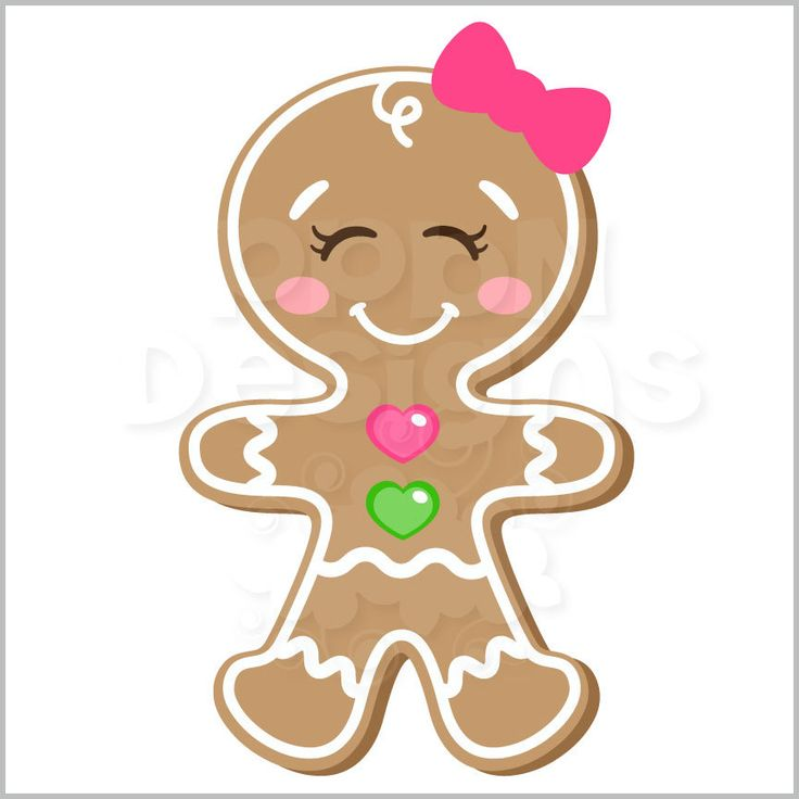 736x736 185 Best Christmas Clipart (Gingerbread) Images
