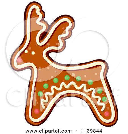 450x470 Gingerbread Girl Cookie Clipart