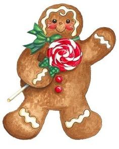 236x296 Gingerbread Clipart Disney