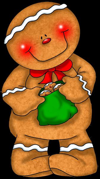338x600 Gingerbread Man Christmasokies On Clip Art Christmas
