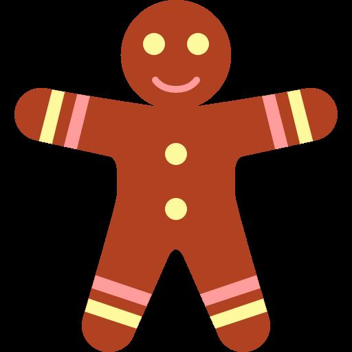 512x512 Gingerbread Man Clipart Free Download Clip Art
