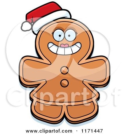 450x470 Royalty Free (Rf) Gingerbread Woman Clipart, Illustrations, Vector
