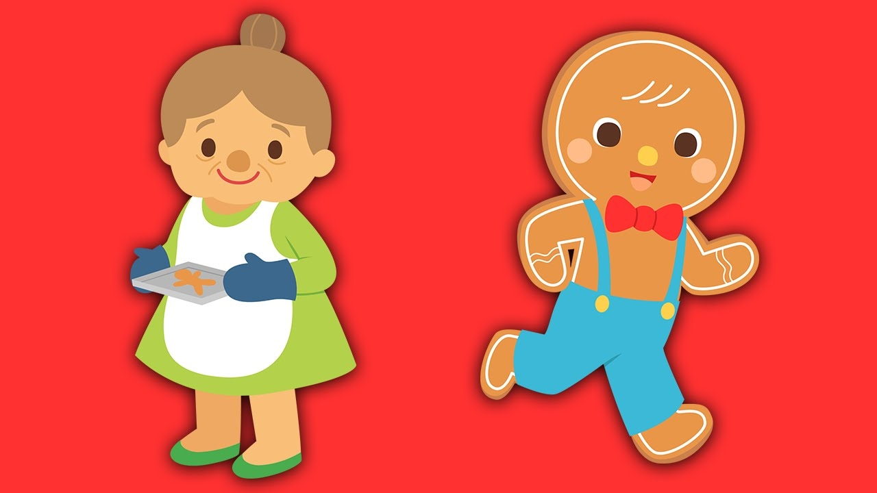 1280x720 Collection Of Gingerbread Man Story Clipart High Quality