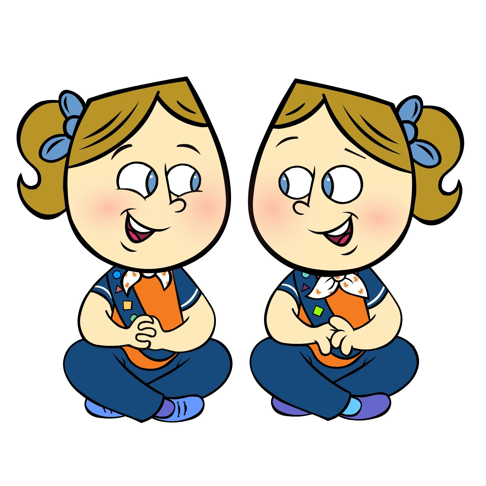 1666x1666 Brownie Clip Art Girl Guide Ideas Clip Art