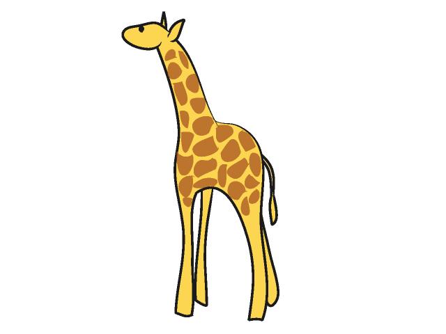 640x480 Image Of Giraffe Clipart