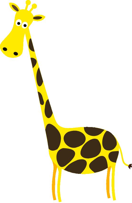 555x850 Cartoon Giraffe Clip Art Clipart Panda