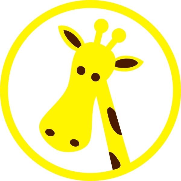 600x600 Giraffe Clip Art Free Vector In Open Office Drawing Svg ( Svg