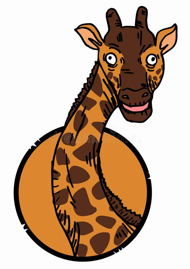 636x900 Royalty Free Giraffe White Background Clip Art Vector Giraffe