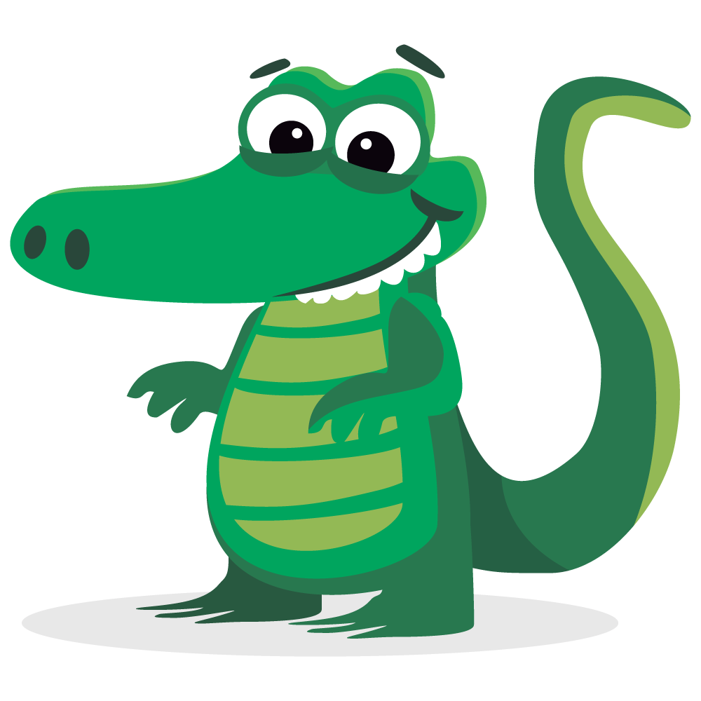 1000x1000 Top 86 Alligator Clipart