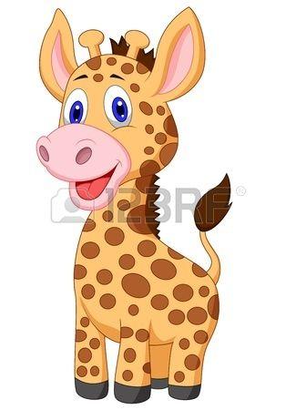 325x450 Cute Baby Giraffe Cartoon Giraffes Baby Giraffes
