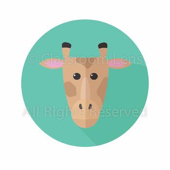 350x350 Giraffe Clip Art Teaching Resources Teachers Pay Teachers