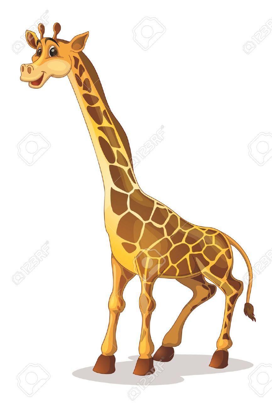 865x1300 Giraffe Stock Vector Illustration And Royalty Free Giraffe Clipart