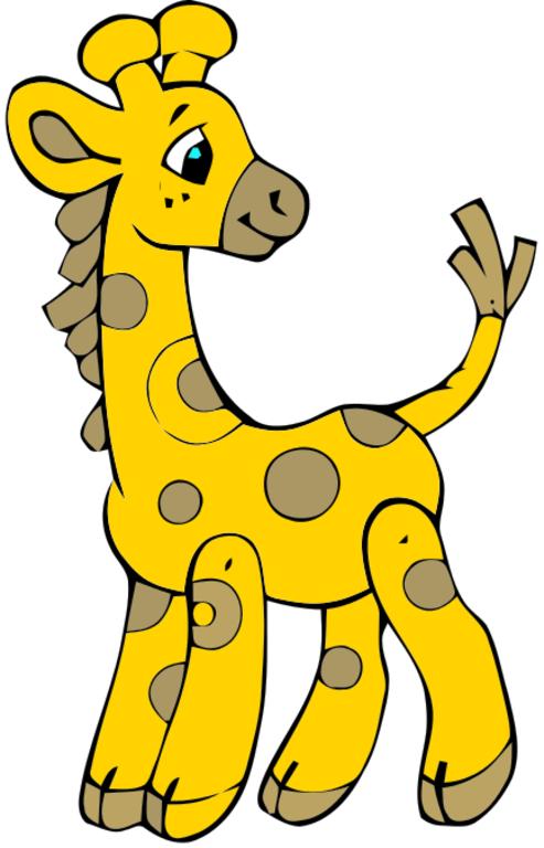 493x768 Image Of Baby Giraffe Clipart 7 Giraffe Clip Art Giraffe