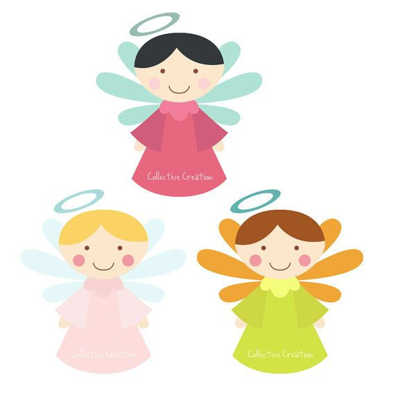 570x570 Baby Angels Clipart